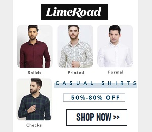 Limeroad offers easy Online Shopping experience