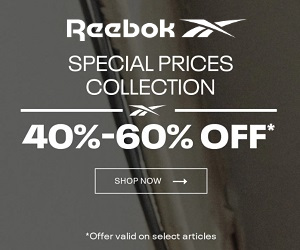 Shop for your look with Reebok footwear and apparel